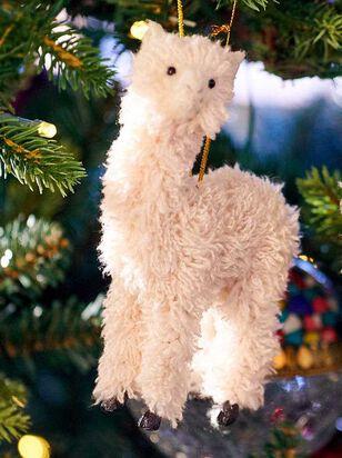 Furry Llama Ornament - Altar'd State