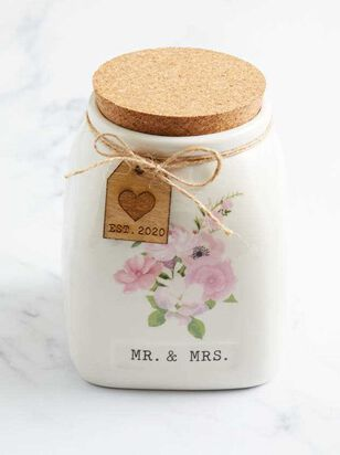 Mr. & Mrs. 2020 Blessing Jar - Altar'd State
