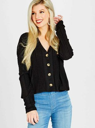 Shelby Cardigan Top - Altar'd State