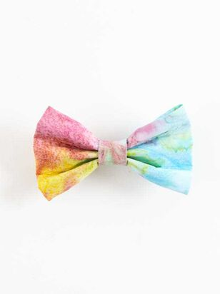 Bear & Ollie's Tie Dye Collar Bow Tie - Altar'd State