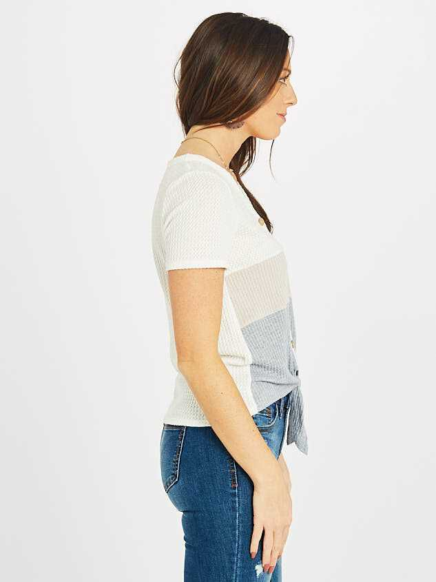 The Color Block Thermal Top Detail 2 - Altar'd State