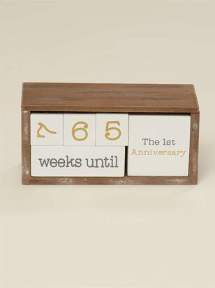 Mr & Mrs Countdown Calendar - Altar'd State