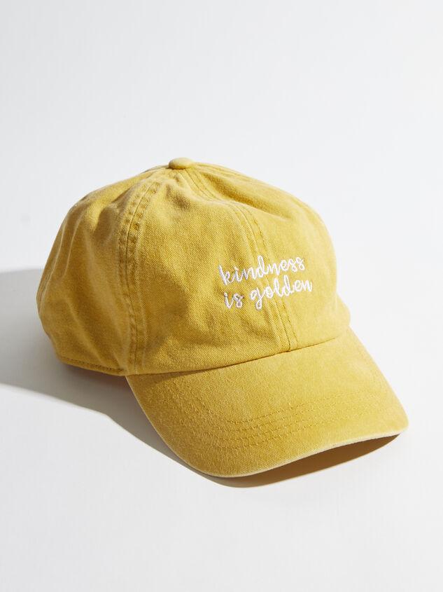 Kindness is Golden Baseball Hat - Altar'd State