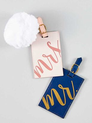 His & Her Luggage Tags - Altar'd State