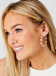 Allison Hoop Earrings Detail 3 - Altar'd State