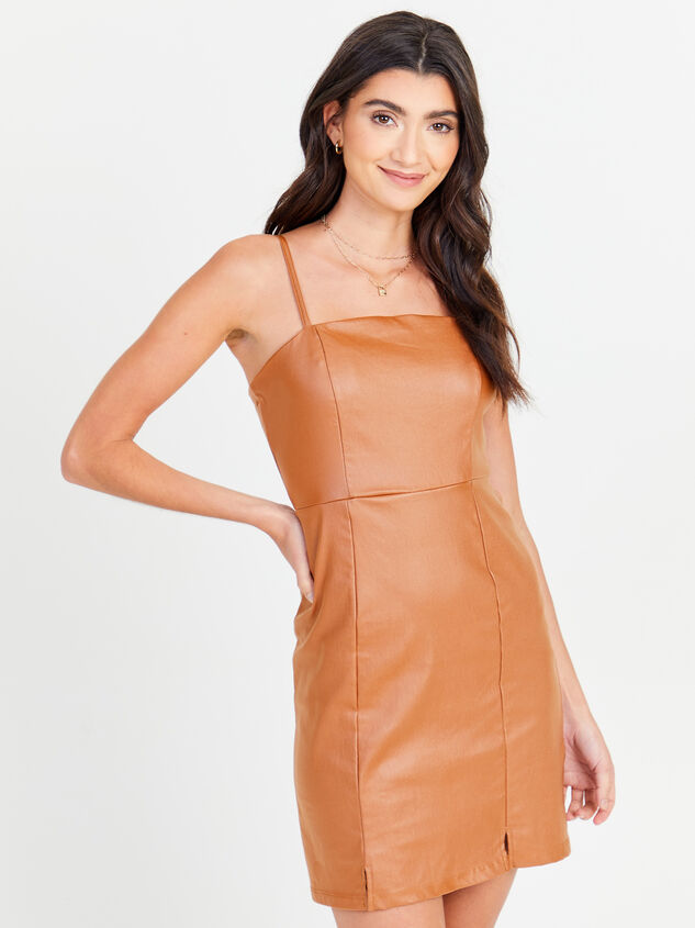 Annie Leather Dress - Altar'd State