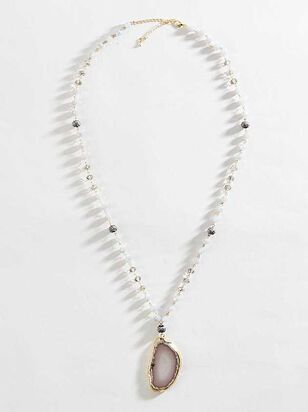 Agate Stone Necklace - Altar'd State