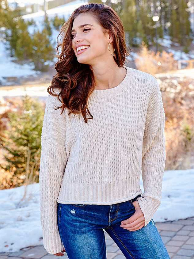 Eversoft Chenille Sweater - Altar'd State