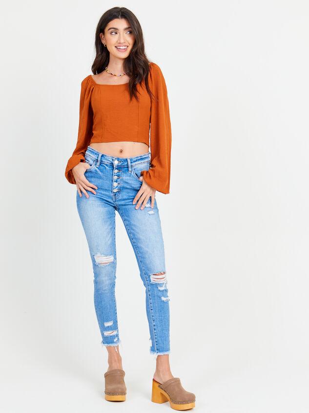 Delilah Skinny Jeans Detail 1 - Altar'd State