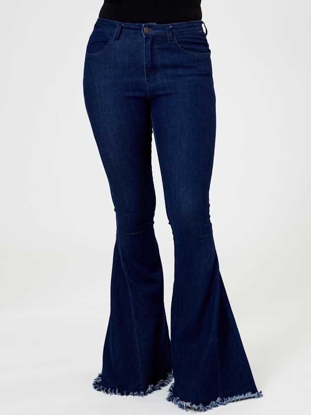 Tennley Flare Jeans Detail 3 - Altar'd State