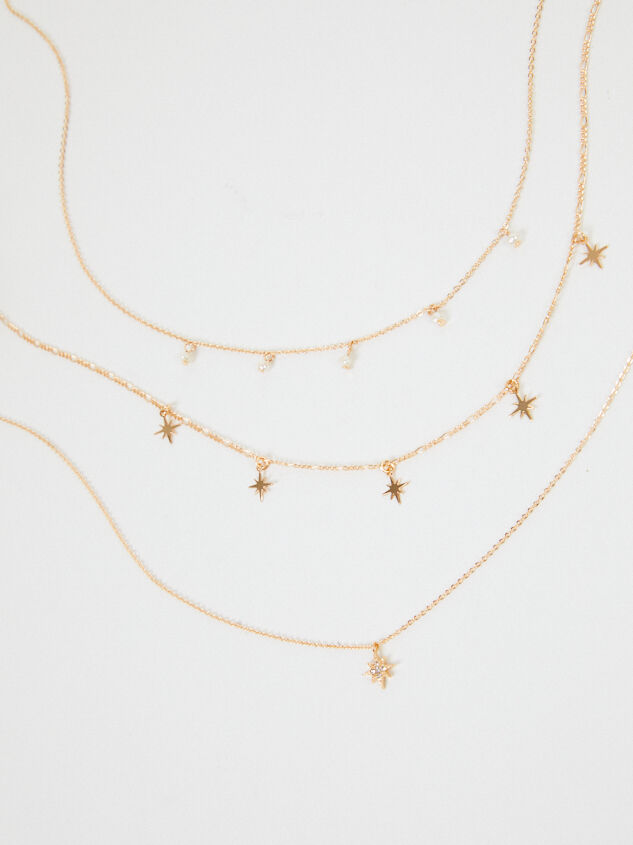 Shooting Star Necklace Set - Altar'd State