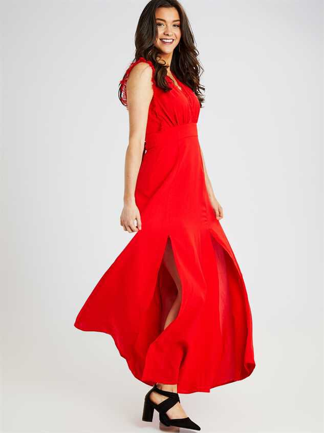 Valetta Maxi Dress Detail 2 - Altar'd State