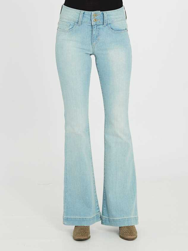 Hanna Flare Jeans Detail 2 - Altar'd State