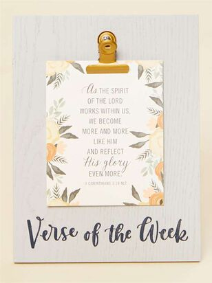 Verse of the Week Stand - Altar'd State
