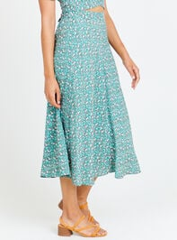 Ditsy Floral Maxi Skirt Detail 2 - Altar'd State