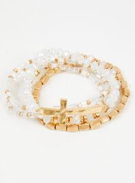 Ansley Cross Bracelet Set - Altar'd State