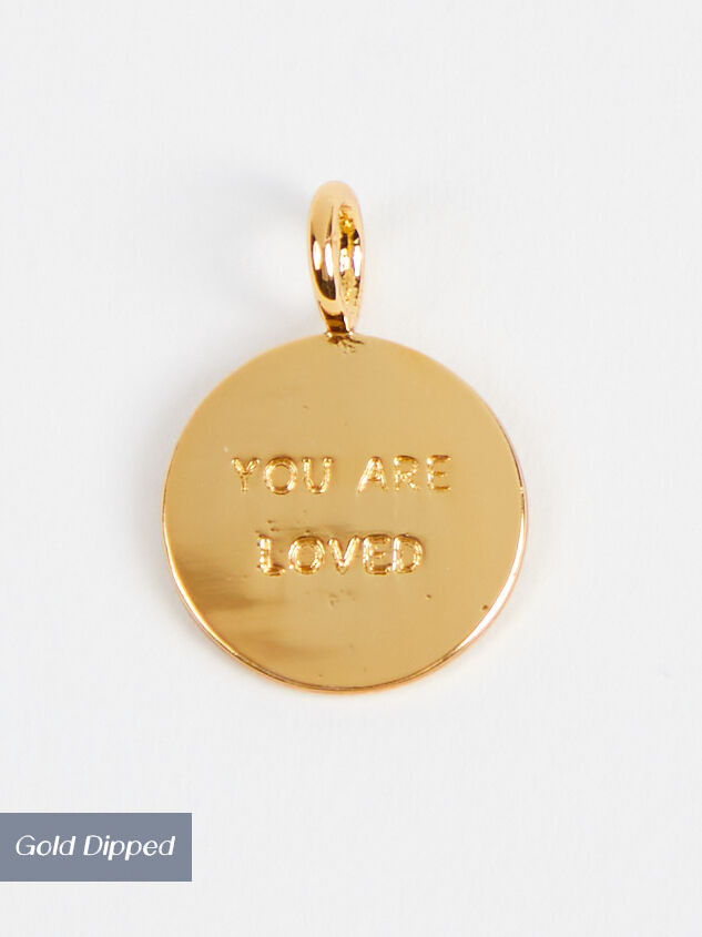 18k Gold You are Loved Charm - Altar'd State