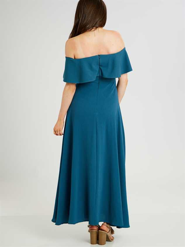 Dayla Maxi Dress Detail 3 - Altar'd State