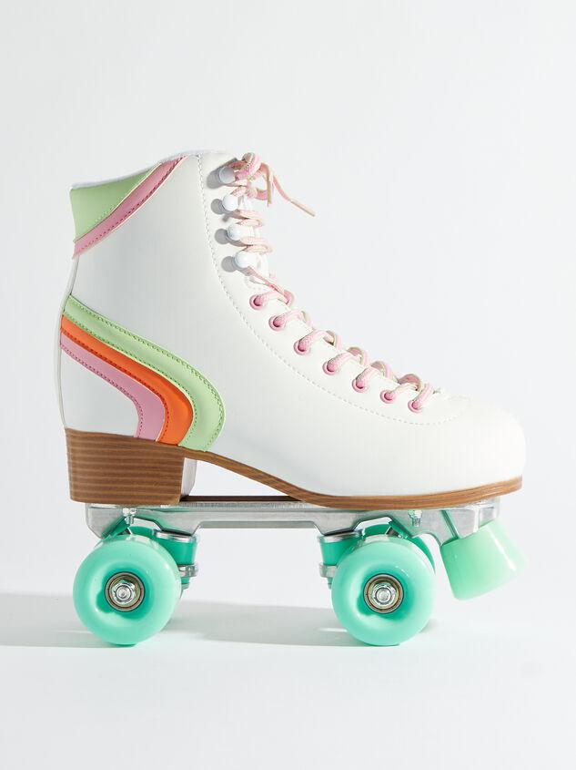 Brite Retro Skates - Mint Wheels Detail 2 - Altar'd State
