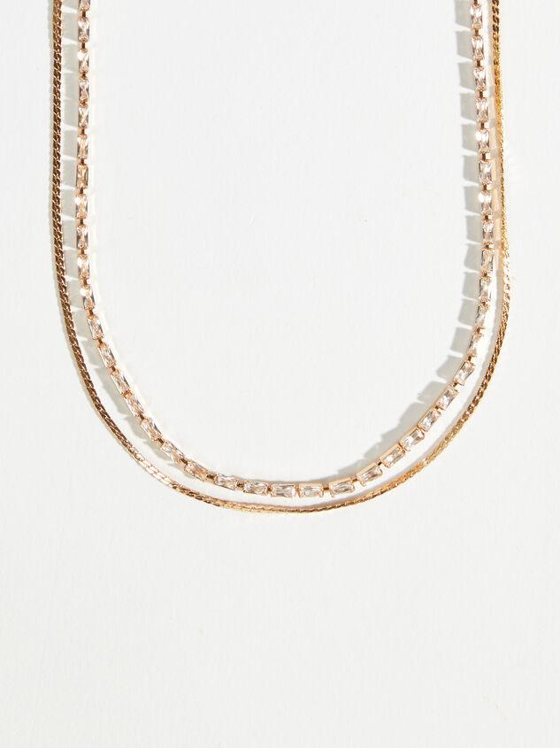 Elizabeth Layered Necklace Detail 2 - Altar'd State