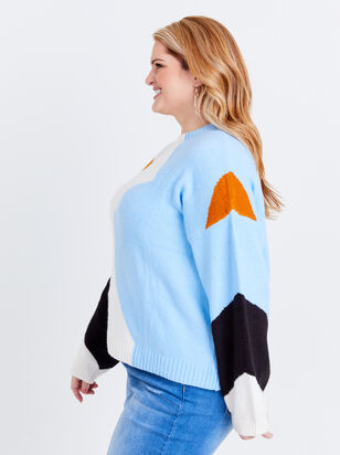Alice Chevron Sweater - Altar'd State