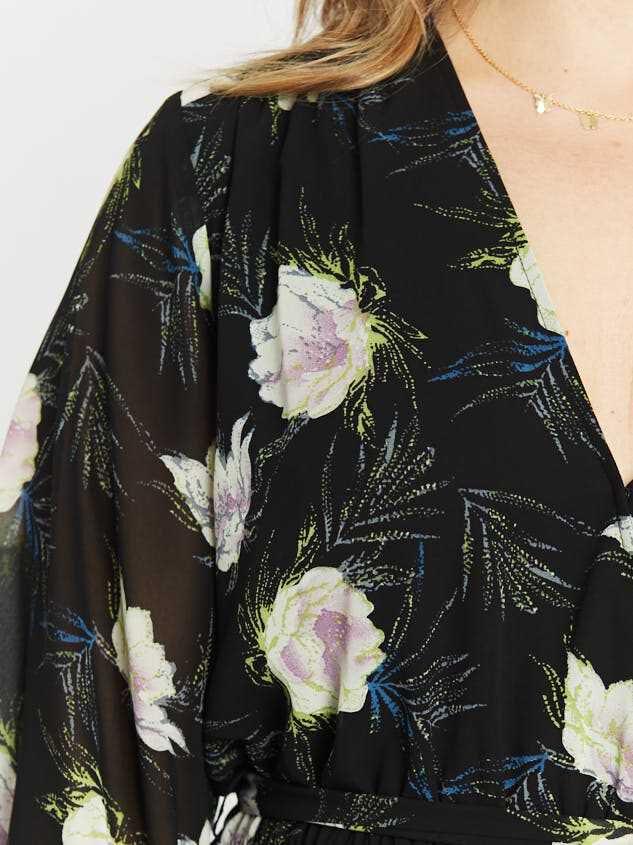 Nessie Maxi Dress Detail 4 - Altar'd State