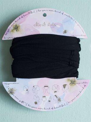 Black Hair Bandeau - Altar'd State