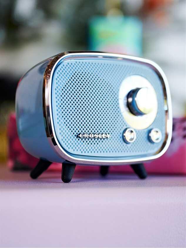 Crosley Retro Bluetooth Speaker Detail 1 - Altar'd State