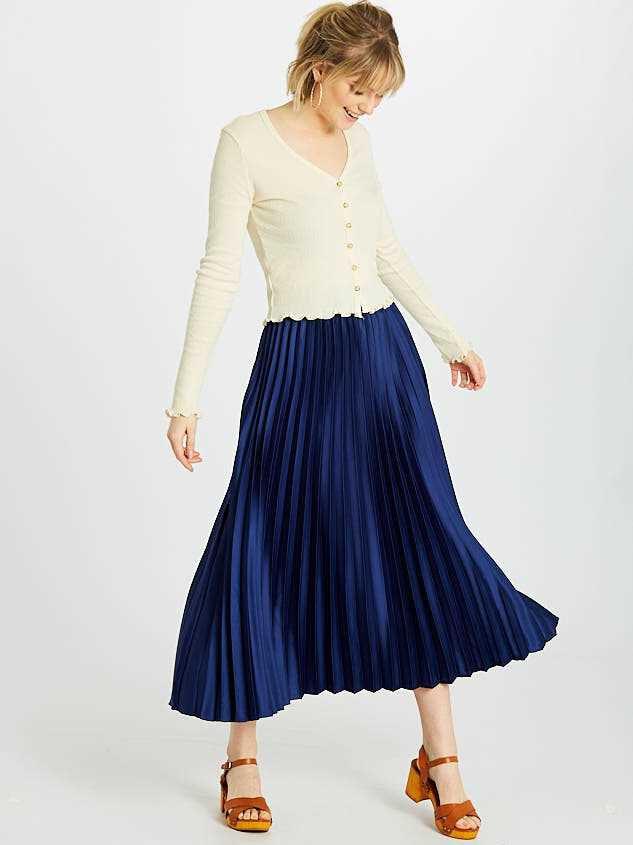 Avenue Midi Skirt - Altar'd State