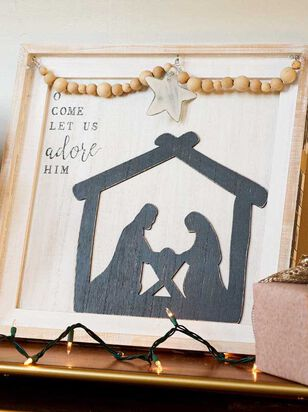 O Come Let Us Adore Him Wall Art - Altar'd State