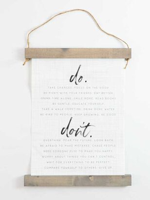Do and Don't Banner - Altar'd State