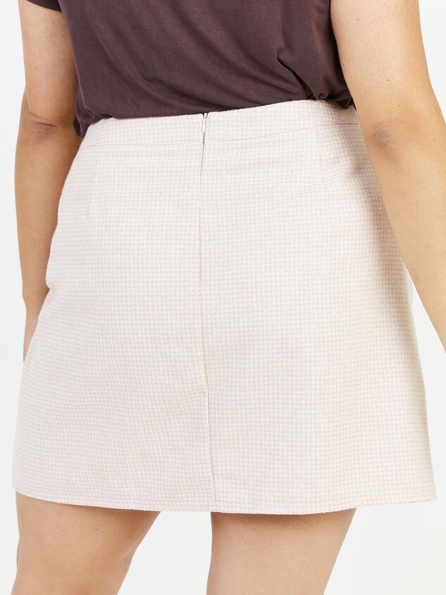 Alani Gingham Skirt Detail 4 - Altar'd State