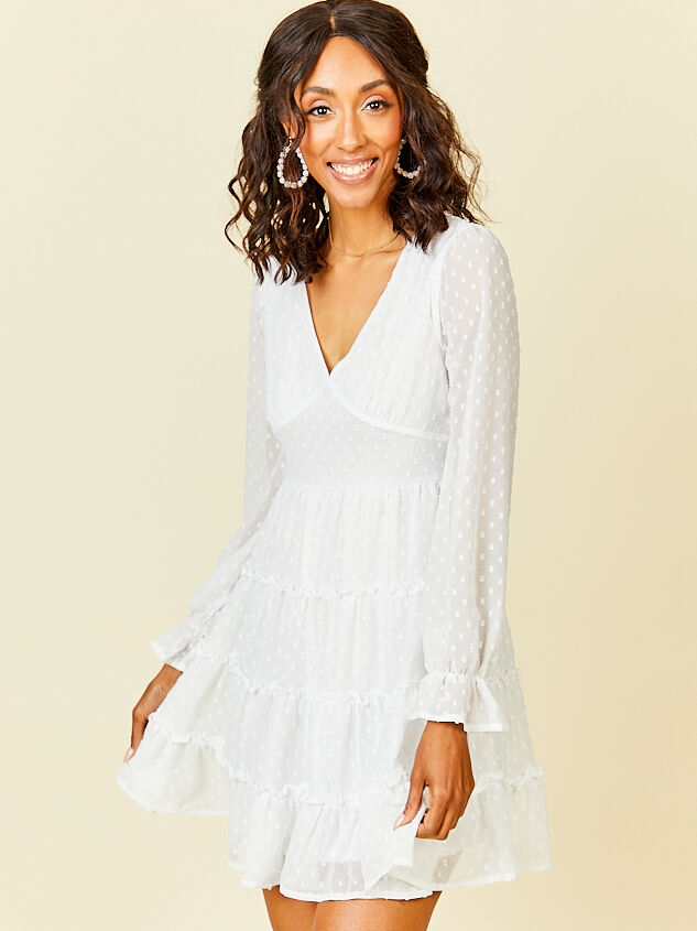 Eliza Dress - White - Altar'd State