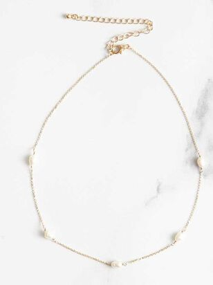 Pearl Shaker Necklace - Altar'd State