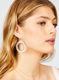 Jalenna Earrings Detail 2 - Altar'd State