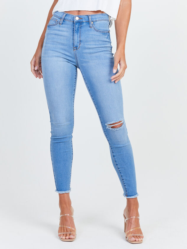 Relinquish Skinny Jeans Detail 2 - Altar'd State