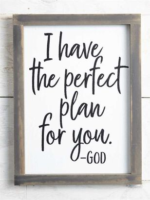Perfect Plan Wall Art - Altar'd State