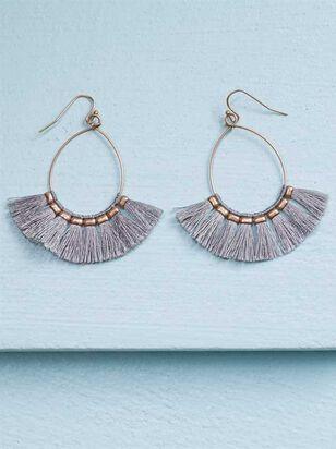 Tickled Tassel Earrings - Altar'd State