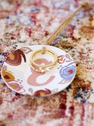 Monogram Ring and Dish Set - E - Altar'd State