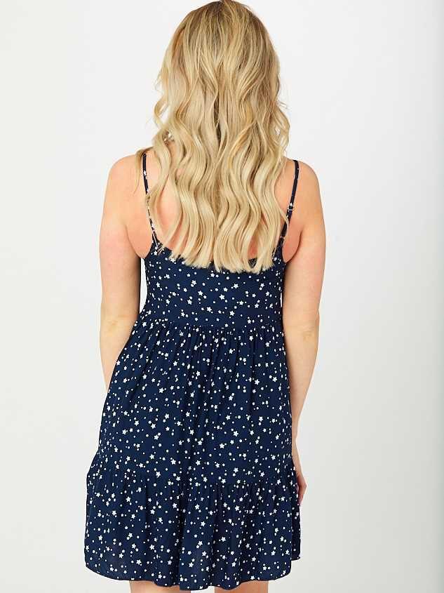 Starry Night Dress Detail 3 - Altar'd State