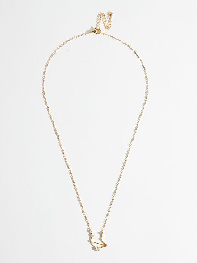 Zodiac Charm Necklace - Libra Detail 2 - Altar'd State