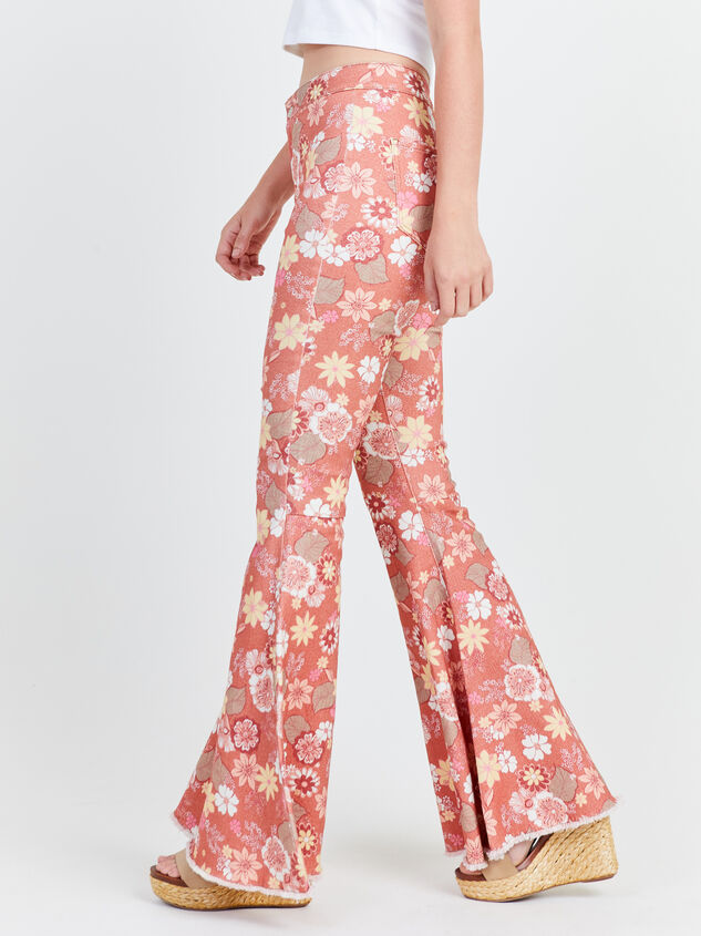 Cindy Retro Flare Jeans Detail 3 - Altar'd State