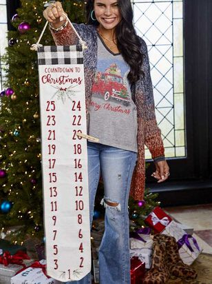 Countdown to Christmas Banner - Altar'd State