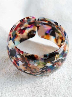 Acetate Cuff Bracelet - Multi - Altar'd State