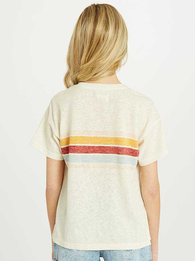 The Retro Stripe Tee Detail 3 - Altar'd State