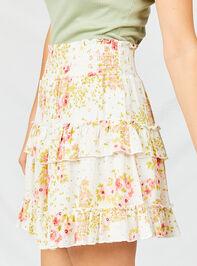 Cara Floral Skirt Detail 3 - Altar'd State