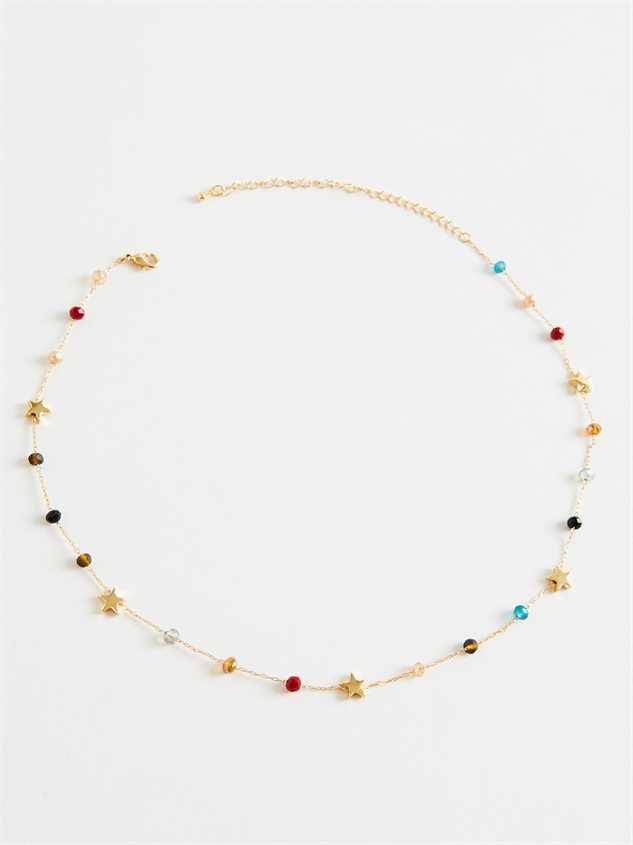 Deagan Star Choker Necklace - Altar'd State