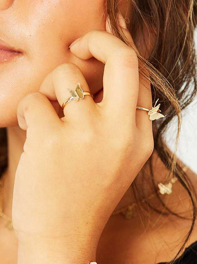 Butterfly Ring Set Detail 2 - Altar'd State
