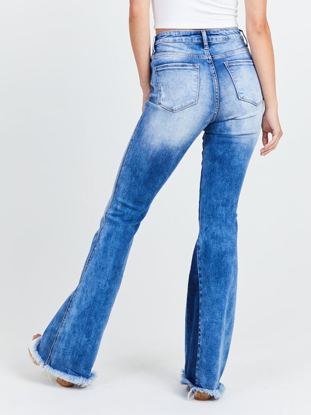 Katy Flare Jeans Detail 4 - Altar'd State