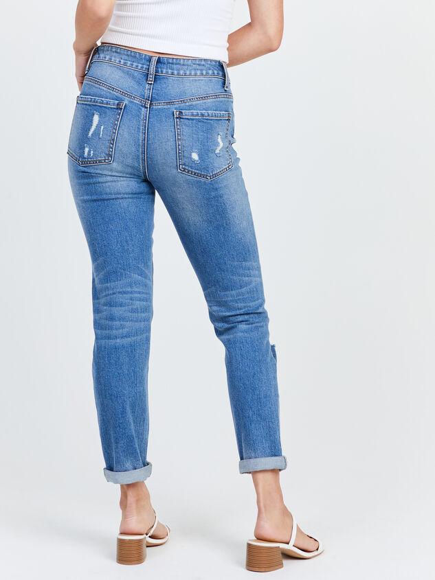 Loosen Up Jeans Detail 4 - Altar'd State